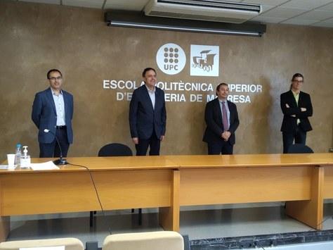 L'Ajuntament de Manresa i la UPC signen un acord de col·laboració per als pròxims anys