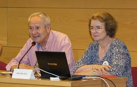 Dolors Grau Vilalta i Josep Font Soldevila reben el Premi medi Ambient 2017 de la Generalitat de Catalunya