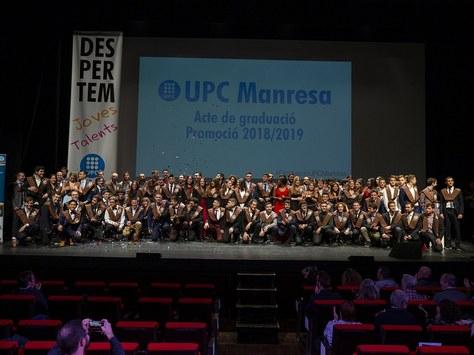 La UPC Manresa celebra l'acte de graduació 2019 juntament amb el teixit industrial i institucional de la Catalunya Central
