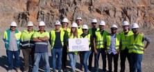 Visita a la pedrera Lafarge-Garraf