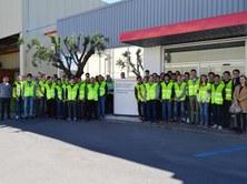 Visita al Nissan Technical Center Europe