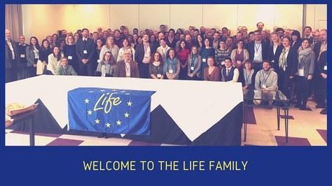 Welcome Meeting dels projectes LIFE 2018