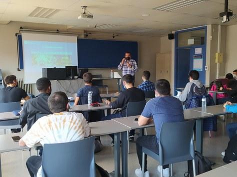 En marcha las nuevas aulas híbridas en la UPC Manresa