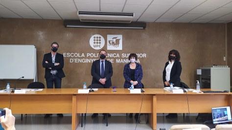 Inmaculada Martínez, nueva directora del Departamento de Ingeniería Minera, Industrial y TIC