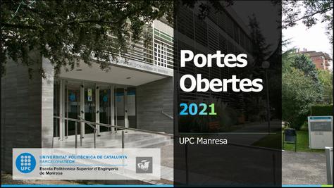 Nueva jornada de puertas abiertas de grados y sesiones informativas de masters en la UPC Manresa